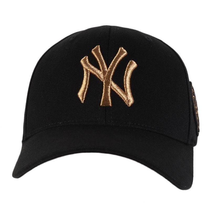 MLB 男女帽 刺绣时尚棒球帽弯檐鸭舌帽 32CP16-50Q