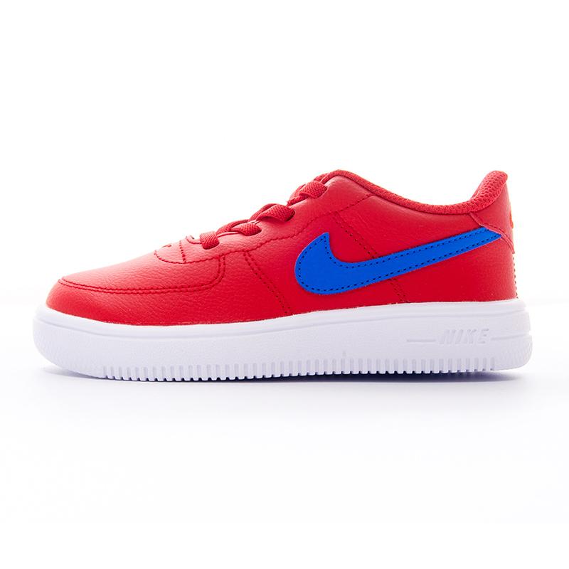 Nike耐克男童女童休闲鞋 冬季新品空军1号婴小童轻质缓震透气防滑跑步板鞋运动鞋905220-604