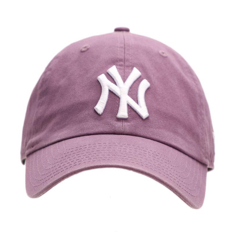 New Era 男女 2020新款纽约洋基队弯檐帽经典棒球帽 12711103