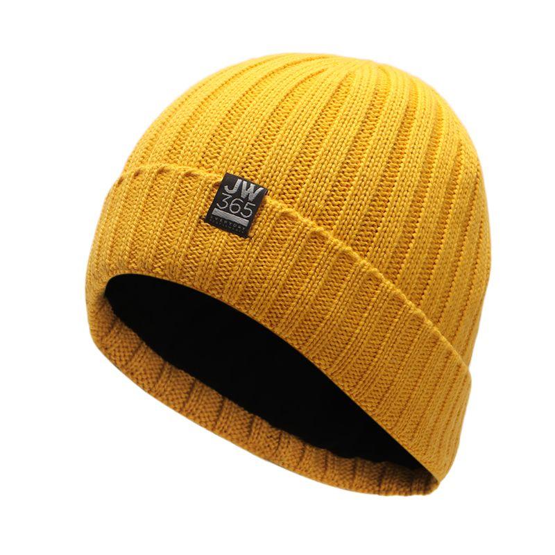狼爪Jack wolfskin 男女  2020冬季新款户外运动保暖防寒透气羊毛针织帽子 1908331-3802