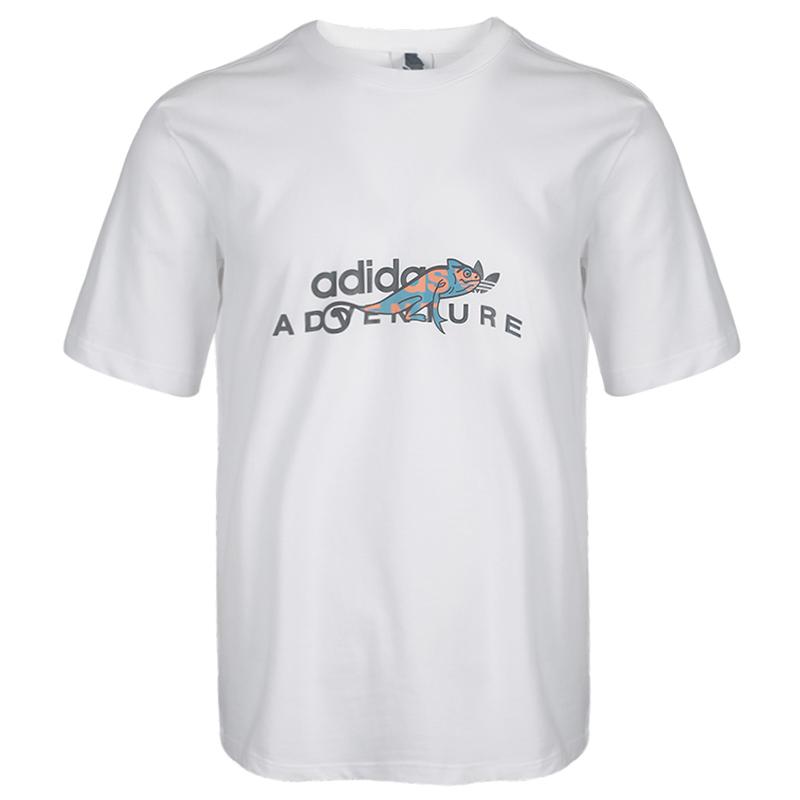 阿迪达斯三叶草ADIDAS 男装 运动休闲透气短袖T恤 GD5609
