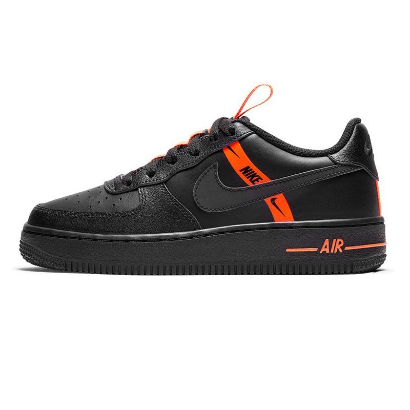 耐克NIKE AIR FORCE 1 童鞋 2020冬季新款耐磨运动休闲鞋低帮板鞋 CT4683-001