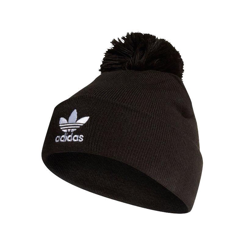 阿迪达斯三叶草ADIDAS  男女 运动休闲保暖绒线帽 ED8719