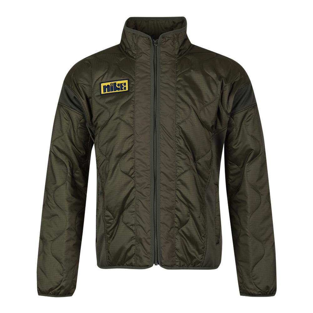 顺丰包邮 耐克NIKE  男装 2020冬季新款防风保暖立领棉衣运动夹克外套 CK6858-222