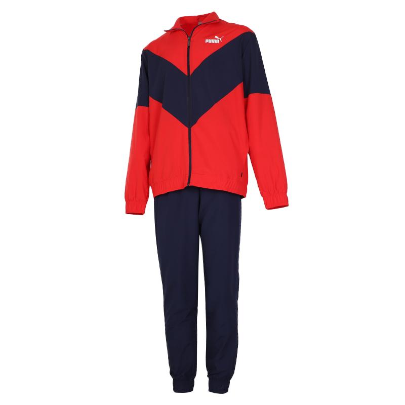 彪马PUMA 男装 2020冬季新款休闲训练套装跑步外套长裤两件套 583604-11