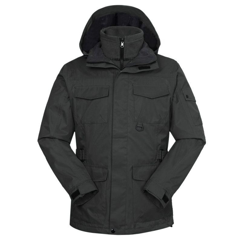 TOURMARK  男装 冬季新款运动外套防风三合一外套 D24110-07