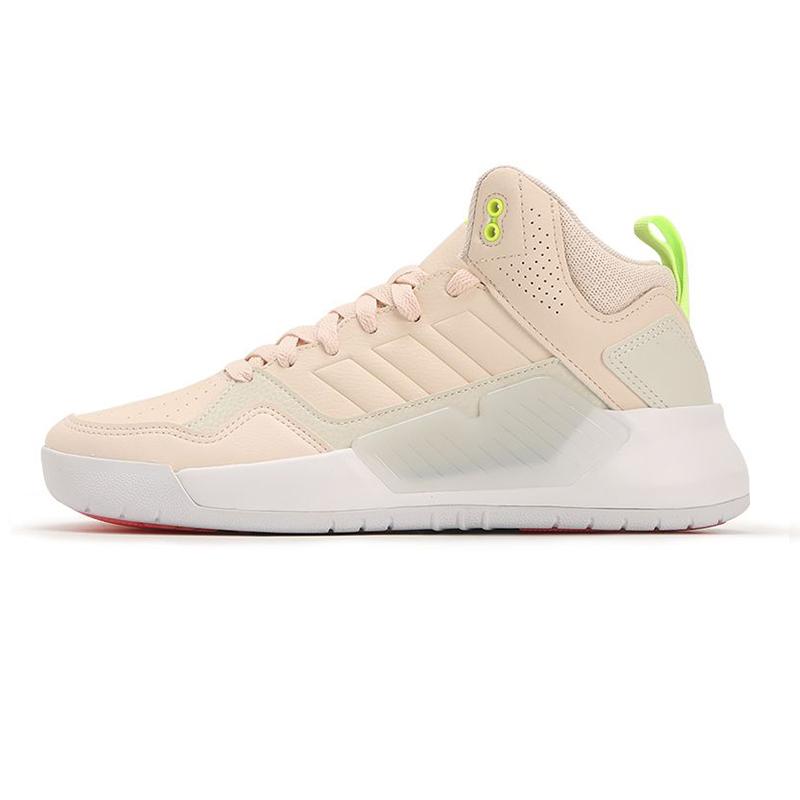 阿迪达斯生活Adidas NEO 女鞋 运动高帮休闲鞋 G55058