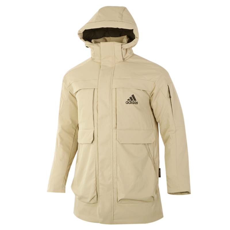 阿迪达斯ADIDAS  男女 2020冬季新款运动加厚棉服保暖棉衣羽绒服 GN9837