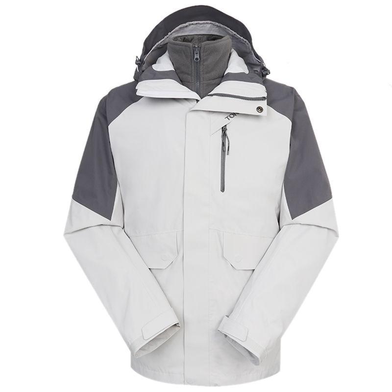 探路者TOREAD 男装 2020冬季新款运动户外保暖防风冲锋衣 TAWI91105-F86G