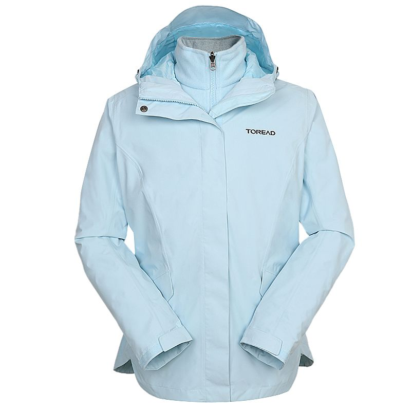 探路者TOREAD 女装 户外运动登山服冲锋衣 TAWI92106-CB8X