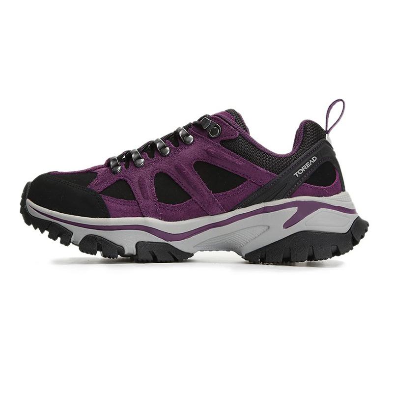 探路者TOREAD 女鞋 户外运动登山徒步鞋 TFAI92254-E04G