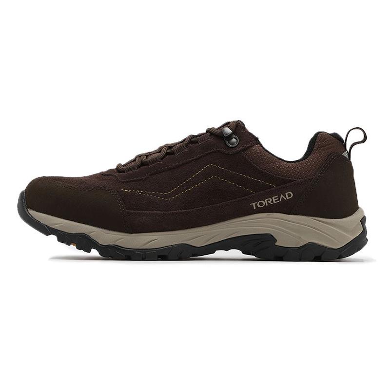 探路者TOREAD 男鞋 运动鞋反毛牛皮徒步鞋 TFAH91076-F18G