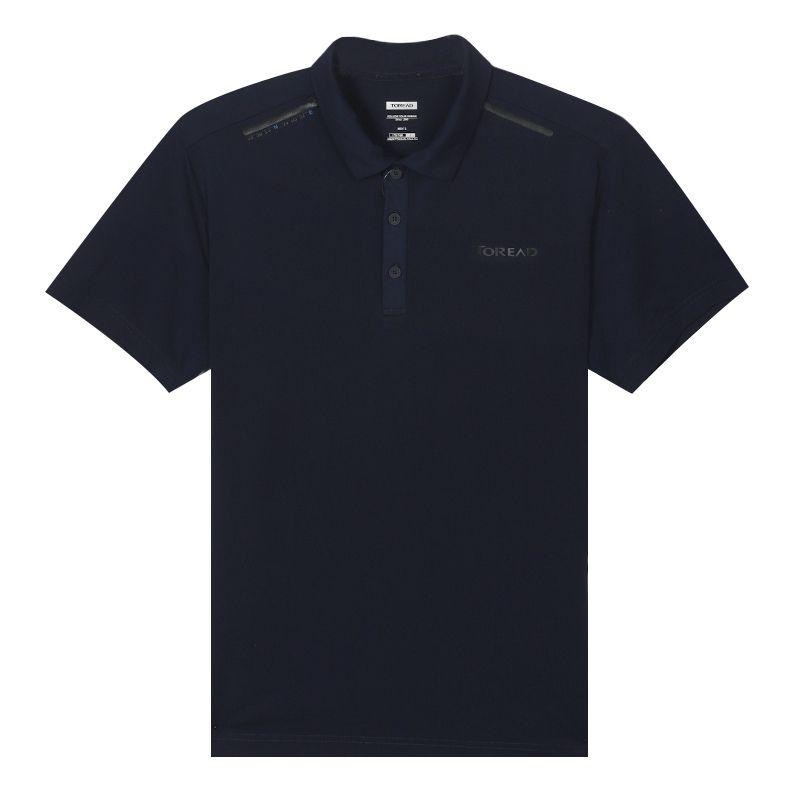 探路者TOREAD 男装 运动户外速干POLO衫休闲T恤 TAJI81967-C03X
