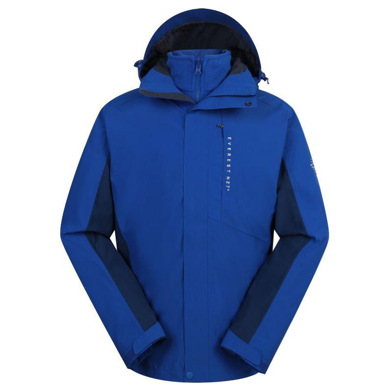 探路者TOREAD 男装 2020冬季新款户外运动服保暖冲锋衣 TAWI91101-C02X