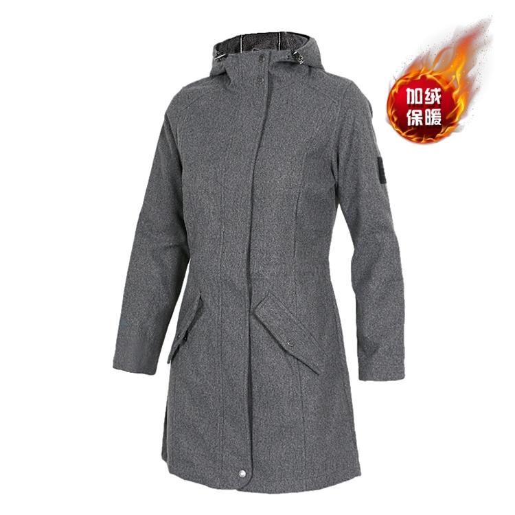 MCKINLEY 女装 中长款秋新夹克衫外套长款呢子大衣 256996-050  256996-289  256996-506