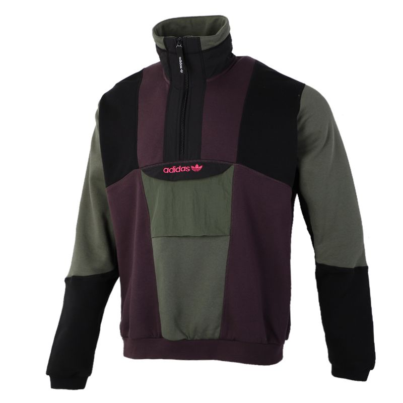 阿迪达斯三叶草ADIDAS  男装 2020冬季新款运动休闲套头衫卫衣 GD5575
