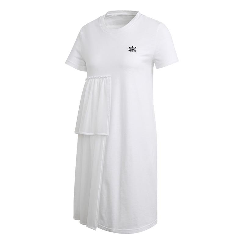 阿迪达斯三叶草ADIDAS 女装 运动休闲连衣裙 GK3664