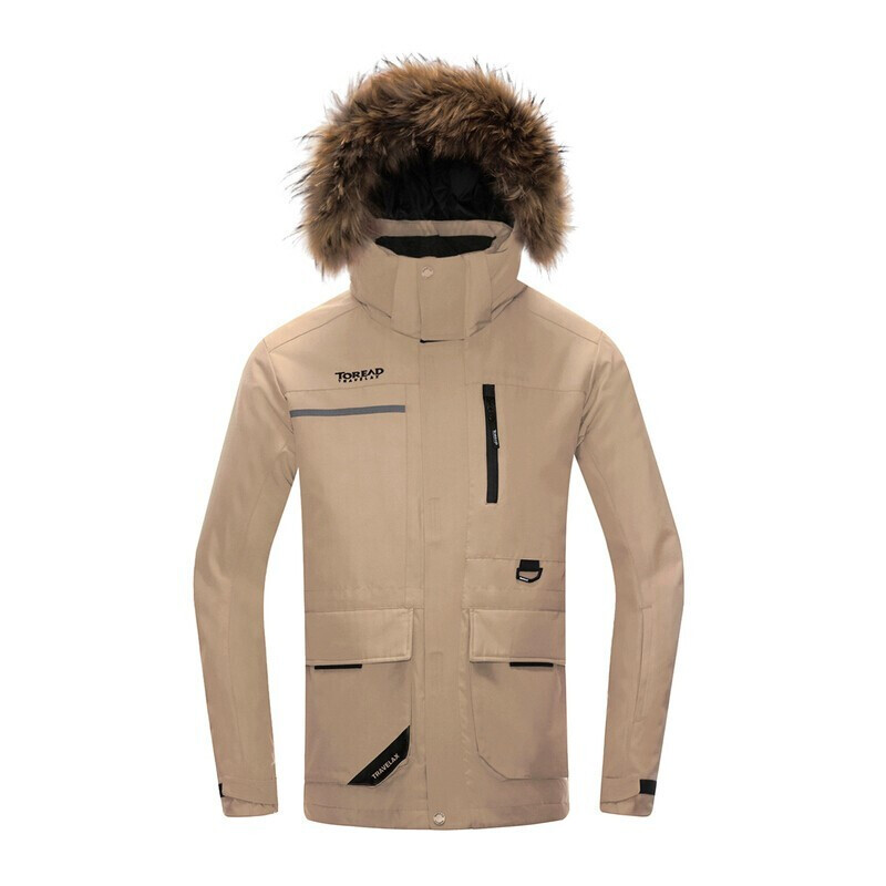 探路者 TOREAD 男子 户外运动服登山徒步旅行防风透气保暖羽绒服外套 TADH91725-B72X