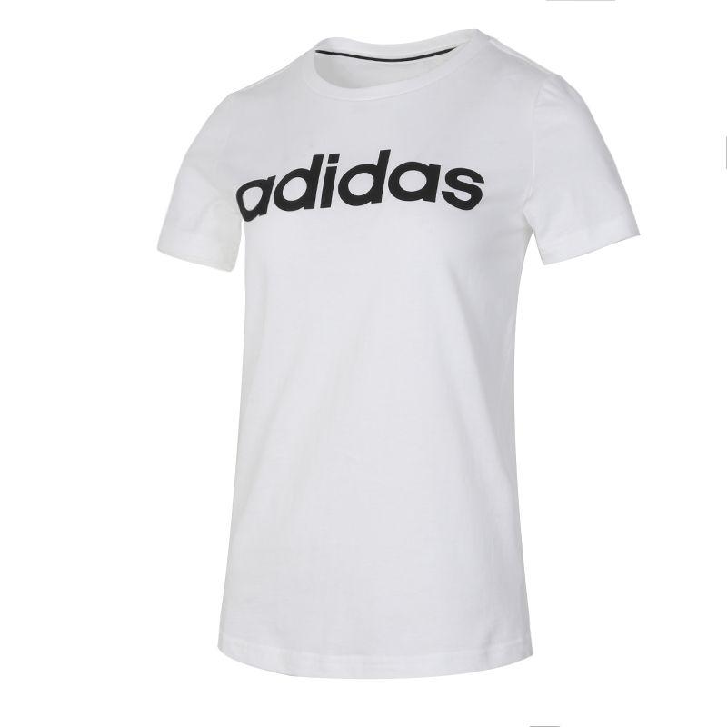 阿迪生活Adidas NEO 女子 2020夏季新品运动休闲快干短袖简约舒适透气T恤 GP7139