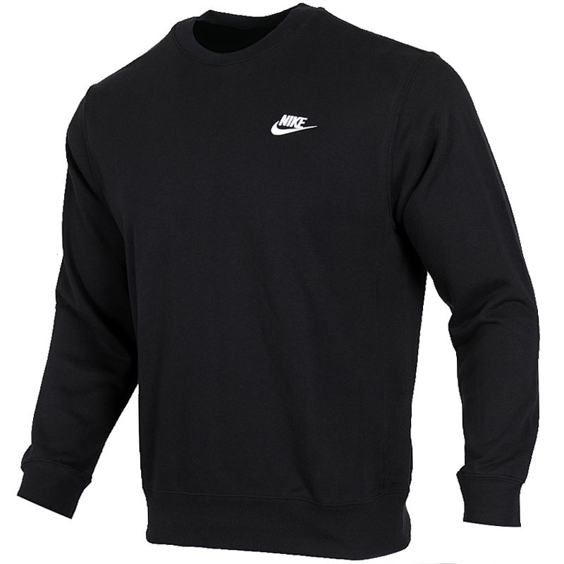 耐克NIKE 男子 休闲针织舒适透气长袖T恤卫衣套头衫 BV2667-010