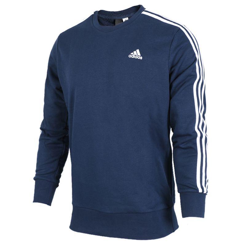 阿迪达斯Adidas 男装 春季 运动休闲圆领套头衫卫衣 B45731
