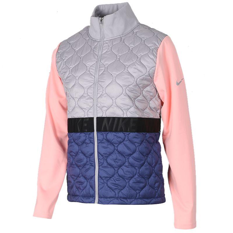 耐克 NIKE 女子 运动休闲保暖立领夹克外套棉服 BV3863-059