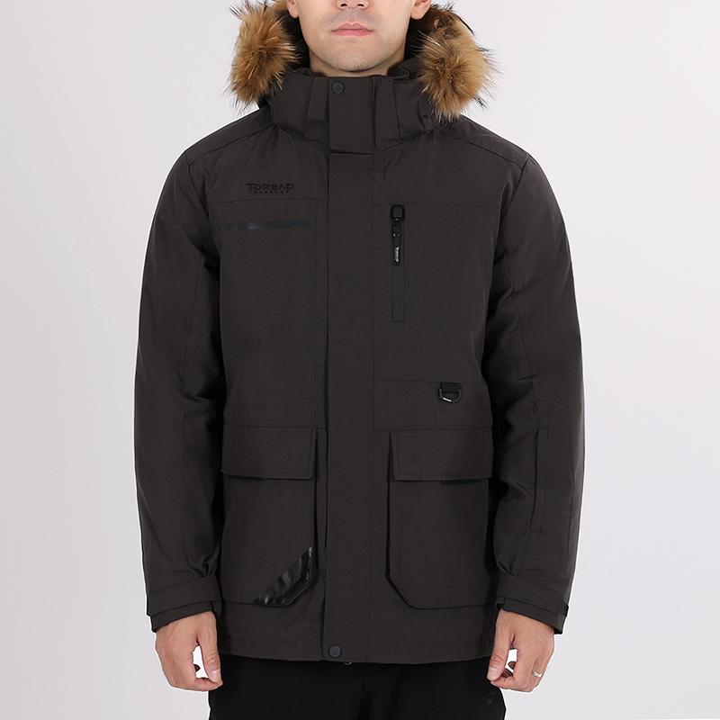 探路者 TOREAD 男子 户外运动服登山徒步旅行防风透气保暖羽绒服外套  TADH91725-G62X