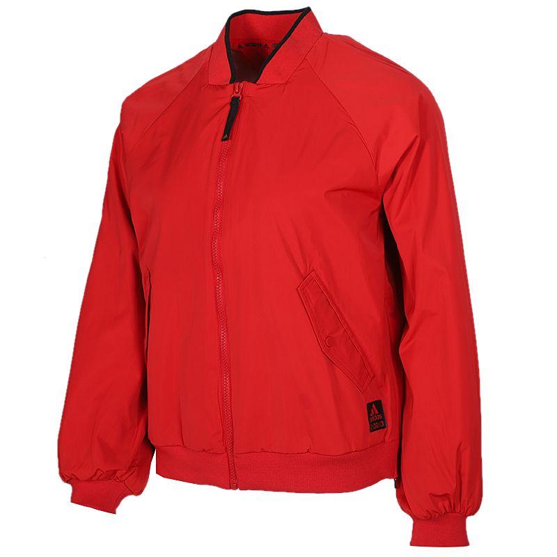 阿迪达斯 adidas 女装 运动服跑步训练舒适防风耐磨休闲梭织夹克外套 FU6236