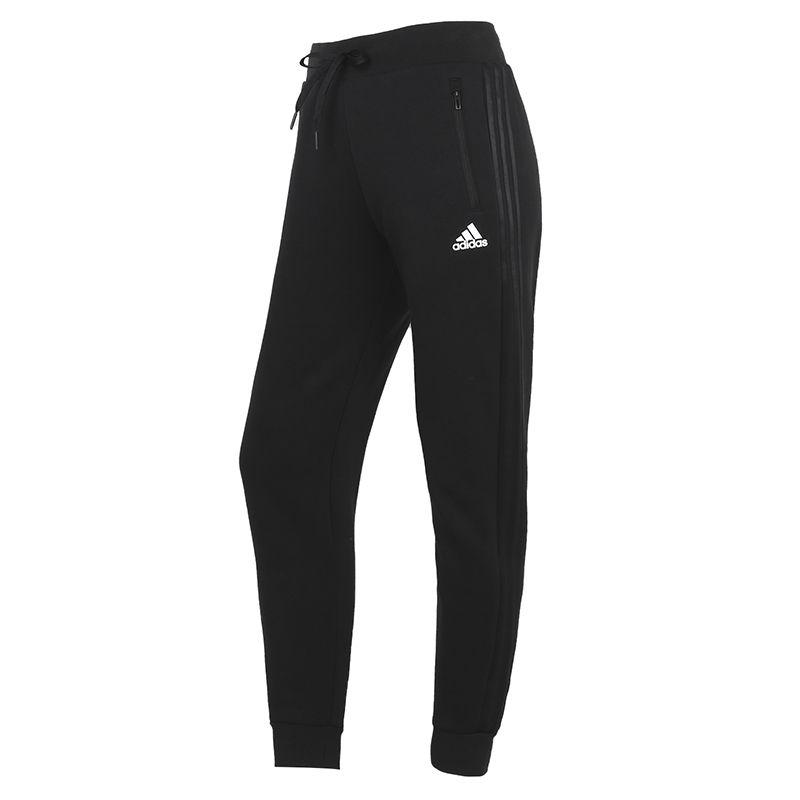 阿迪达斯ADIDAS 女装 2021春季新款运动裤跑步训练健身舒适透气休闲长裤 GT6825
