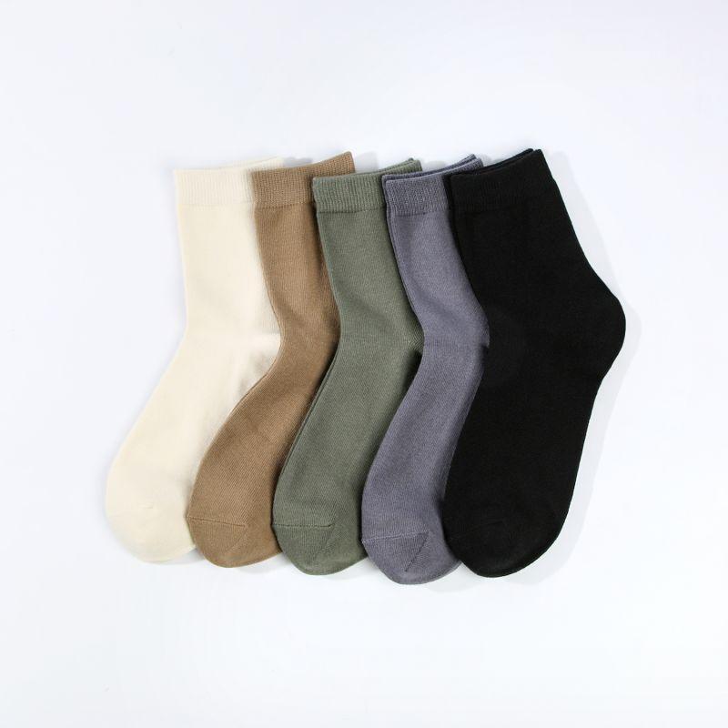 TOURMARK 男款  运动休闲中筒袜子 T39108-90