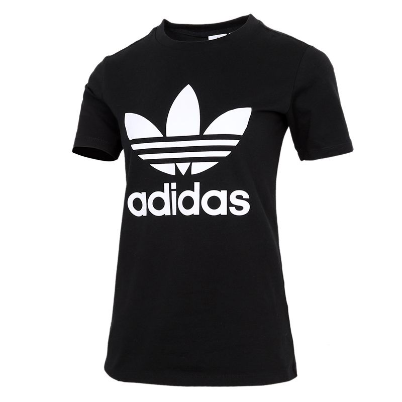 阿迪达斯三叶草ADIDAS 女装 TREFOIL TEE 短袖T恤 GN2896