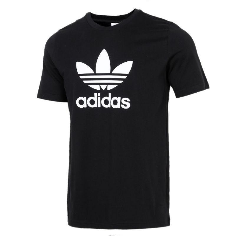 阿迪达斯三叶草ADIDAS 男装 TREFOIL T-SHIRT 短袖T恤 GN3462 GN3485