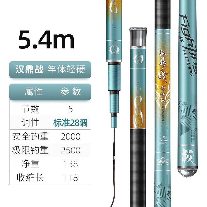 汉鼎战5.4米【综合性强,攻各水域中大型鱼】