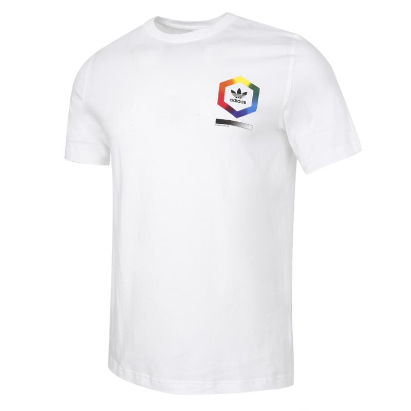 阿迪达斯三叶草ADIDAS 男装 夏季新款SPECTRUM TEE运动T恤时尚休闲圆领短袖上衣 ED6927