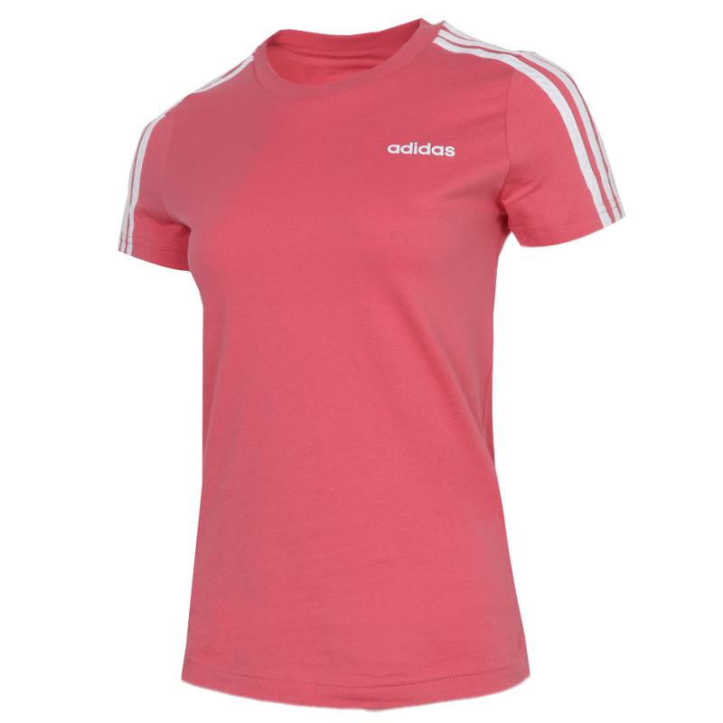 阿迪达斯ADIDAS 女装 运动型格圆领短袖T恤 EI0766