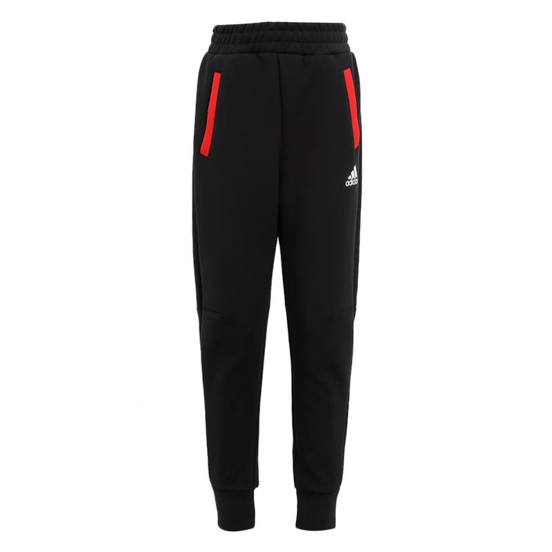 阿迪达斯ADIDAS 儿童 2021春季新款运动裤跑步训练健身舒适透气休闲长裤 GP0544