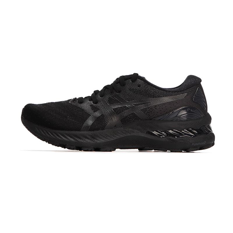 亚瑟士ASICS 女鞋 黑武士GEL-NIMBUS 23缓冲减震保护透气舒适跑步鞋 1012A885-002