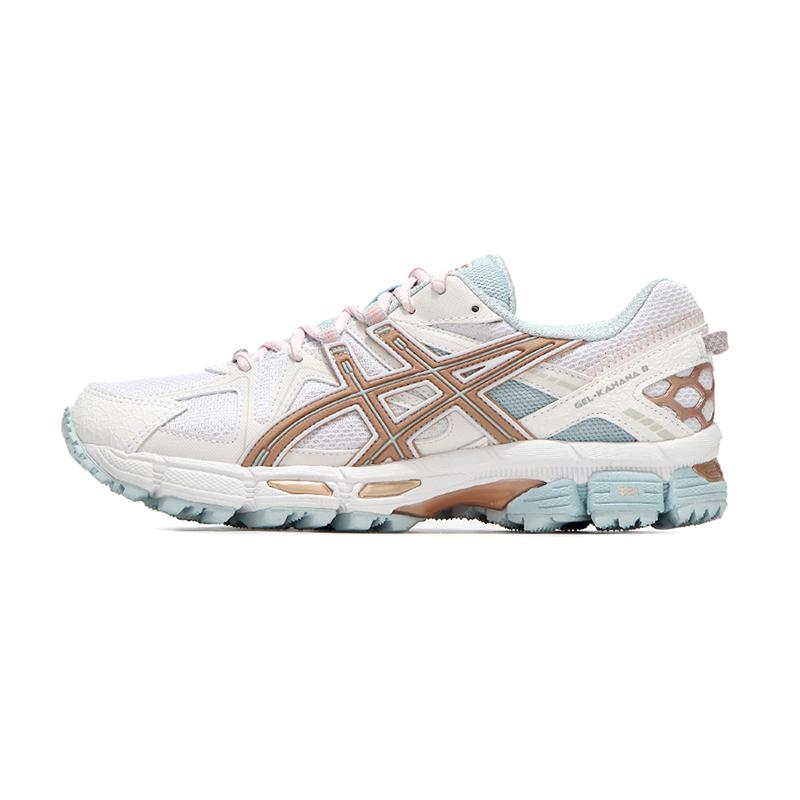 亚瑟士ASICS 女鞋 2021春季新款健身网面透气耐磨运动鞋休闲缓震跑步鞋 1012A993-100