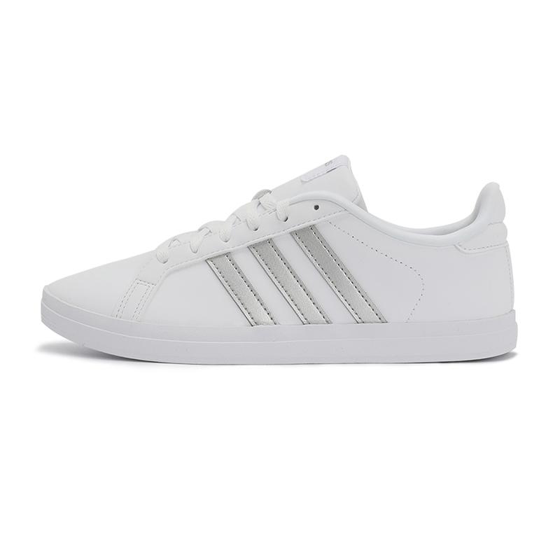 阿迪达斯生活Adidas 女鞋 2021春季新款NEO轻便休闲板鞋 FW7376