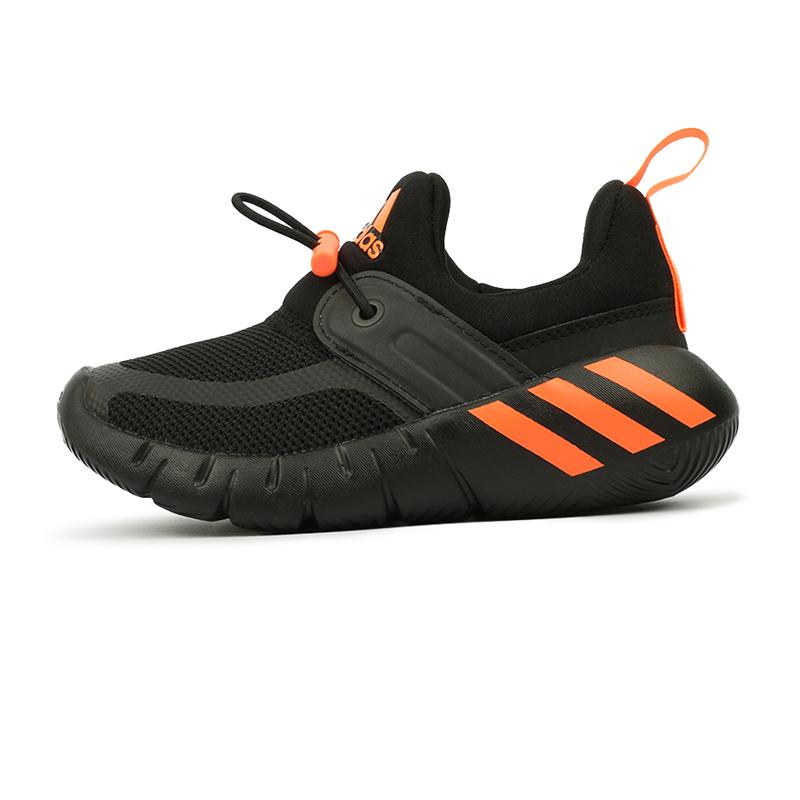 阿迪达斯ADIDAS 儿童 新款套脚魔术贴加绒海马鞋运动训练鞋 FX2692