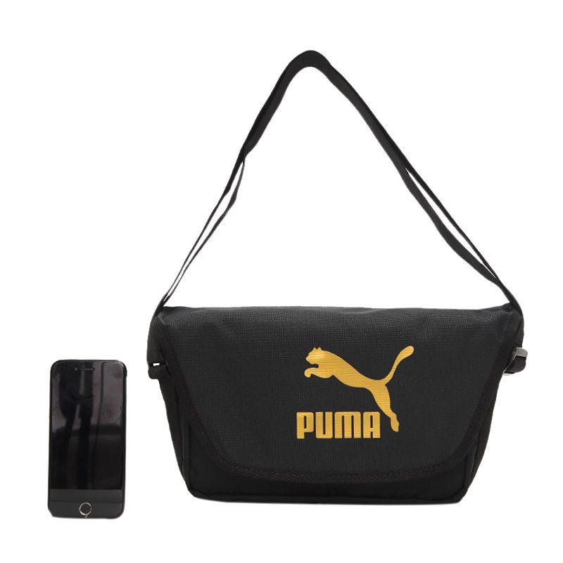 彪马PUMA 男女 2021春季新款运动包休闲单肩包斜挎包拎包 078007-01