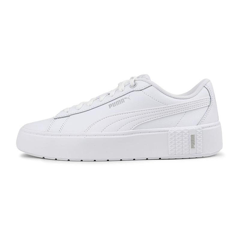彪马PUMA Smash Platform v2 L 女鞋 运动休闲板鞋  373035-01