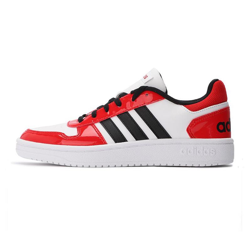 阿迪达斯生活Adidas NEO 女鞋 HOOPS 2.0 休闲运动板鞋 H01211