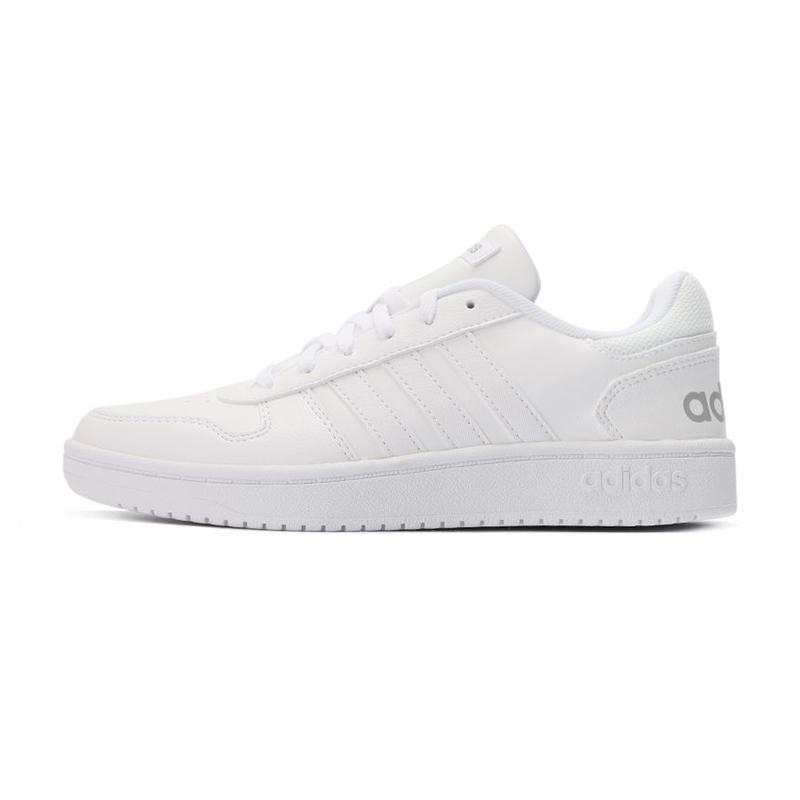 阿迪达斯生活Adidas NEO 女鞋 HOOPS 2.0 休闲运动板鞋 FY6024