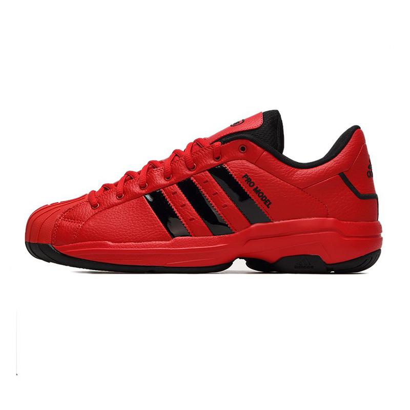 阿迪达斯ADIDAS 男鞋 Pro Model 2G Low 签名款篮球鞋 FZ1392