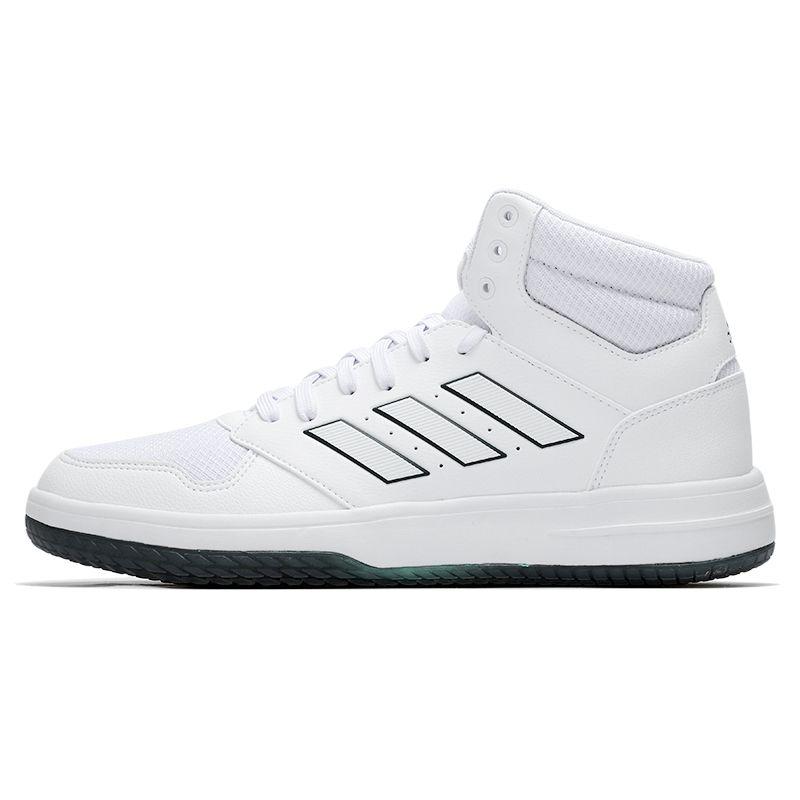 阿迪达斯ADIDAS 男鞋 2021春季新款运动高帮休闲篮球鞋 FY6000