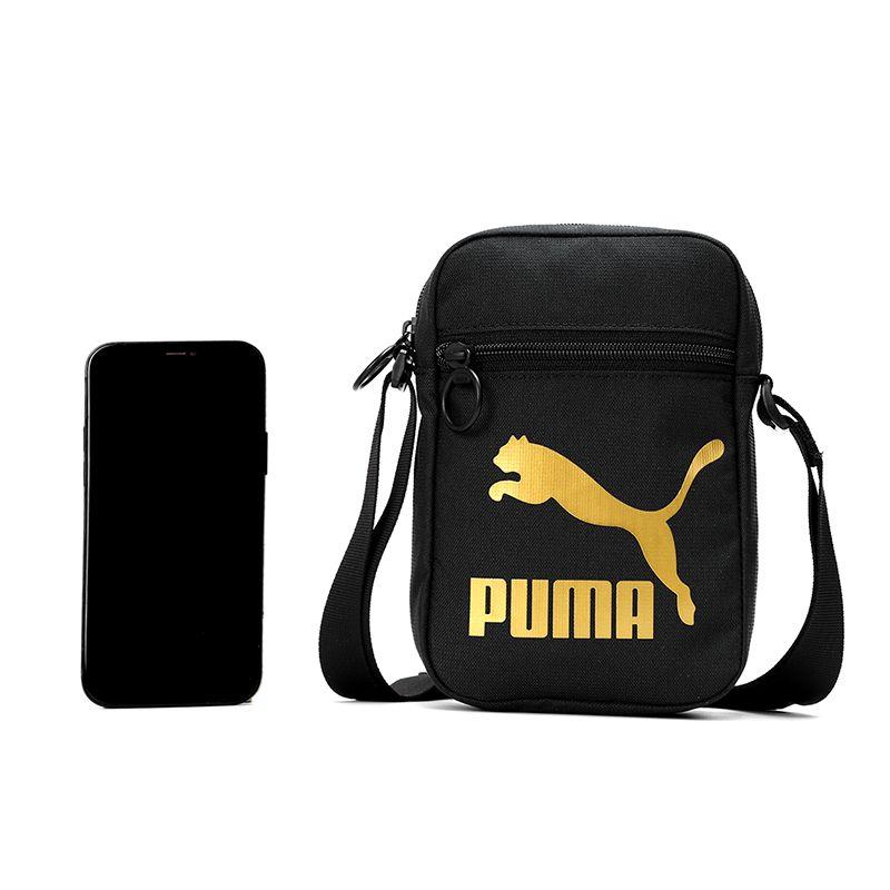 彪马PUMA 男女 2021春季新款运动包时尚休闲挎包健身训练跑步小肩包单肩包 078008-01