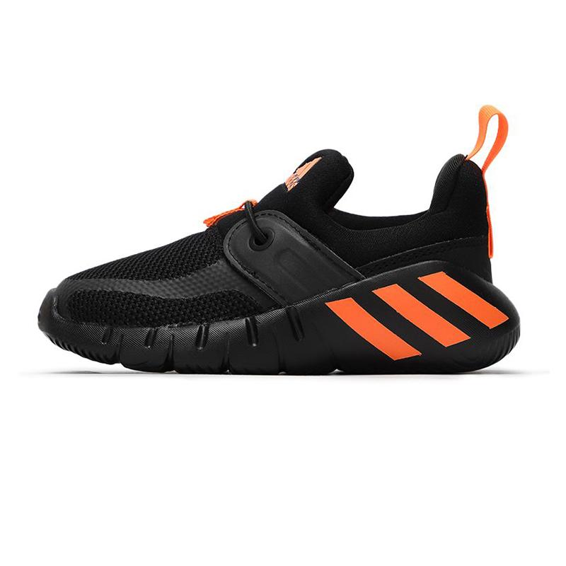 阿迪达斯ADIDAS 儿童 2021春季新款运动鞋一脚蹬鞋子轻便透气训练鞋 FX2699