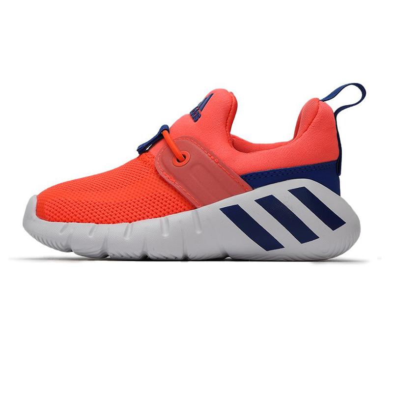 阿迪达斯ADIDAS 儿童 2021春季新款运动鞋一脚蹬鞋子轻便透气训练鞋 FX2701