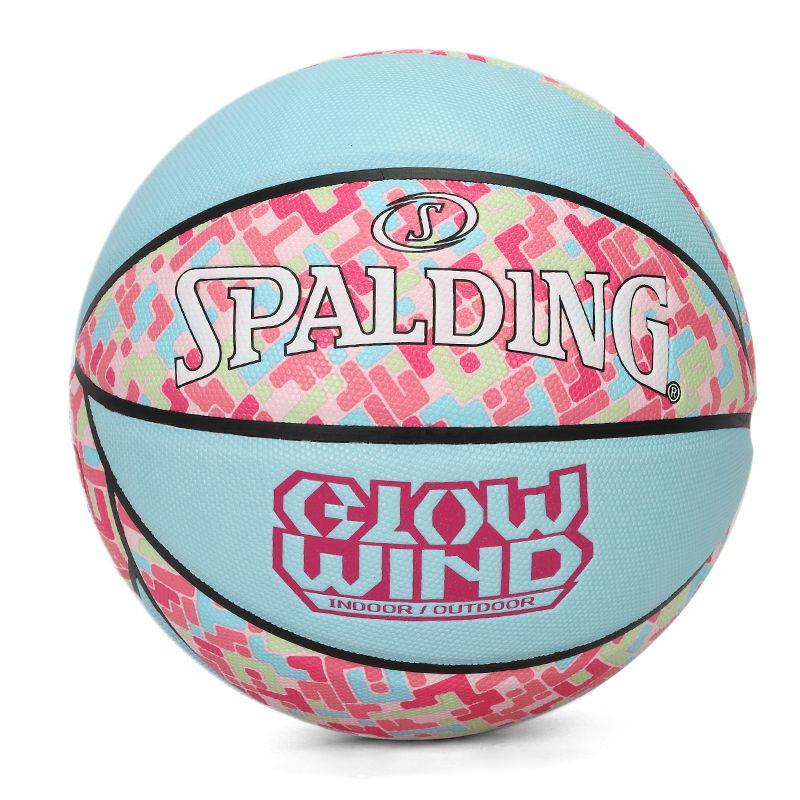 斯伯丁SPALDING 斯伯丁Spalding Glow Wind Blue/Pink #6 PU Ball 男女 篮球 76-999Y